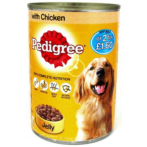Pedigree Chunks In Chicken PM 85p
