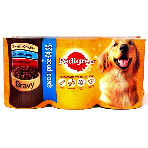 Pedigree Chunks In Gravy Mixed 6 Pack PM £4.25