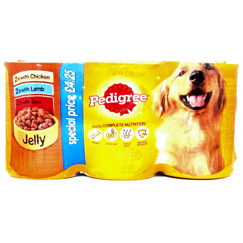 Pedigree Chunks In Jelly Mixed 6 Pack PM £4.25