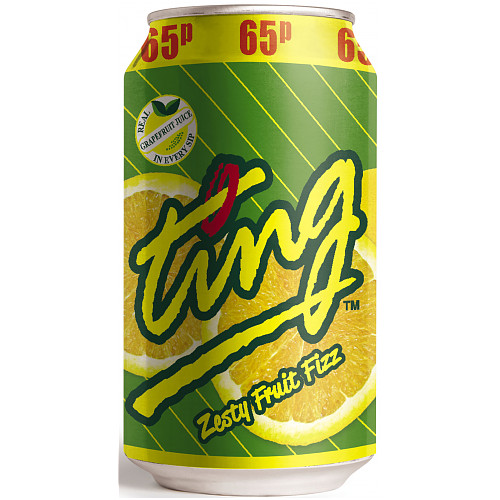 Ting Zesty Fruit Fizz 330ml