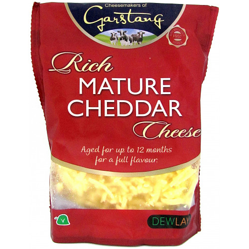 Dewlay Mature White Grated Cheddar