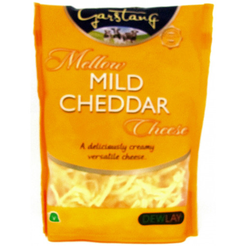 Dewlay Mild White Grated Cheddar