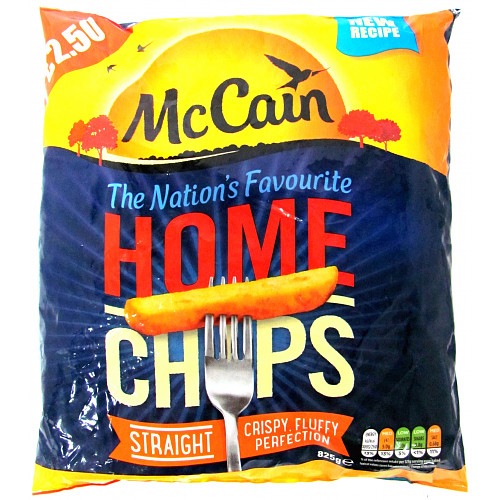Mccain Straight Cut Home Chips PM £2.50