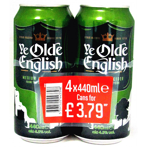 Olde English 4 Pack PM £3.79