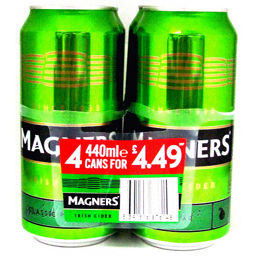 Magners Pear 4 Pack PM £4.49