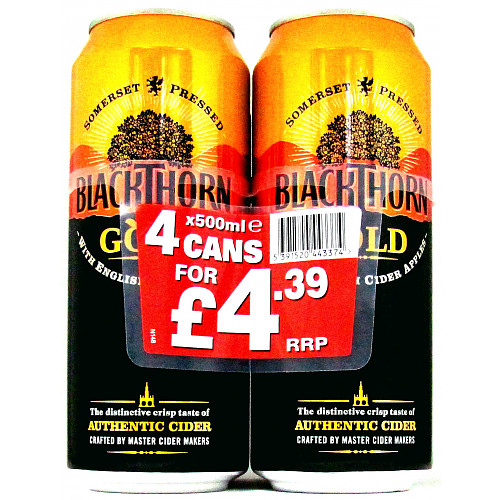 Blackthorn 4 Pack PM £4.39