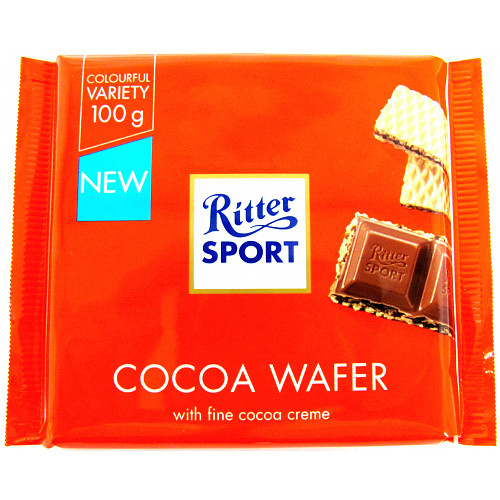 Ritter Sport Cocoa Wafer 100g