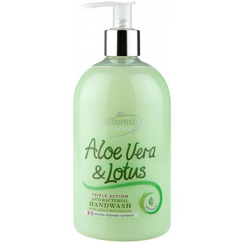 Astonish Aloe Vera & Lotus Antibacterial Handwash 500ml