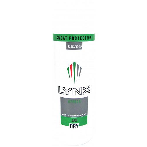 Lynx Apa Africa PM £2.99
