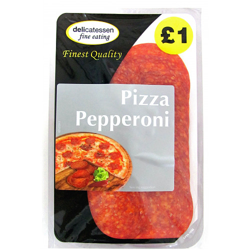 Delicatessen Fine Eating Pizza Pepperoni 90g