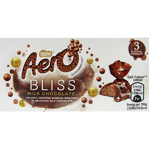 AERO® Bliss Milk Chocolate Box 25g