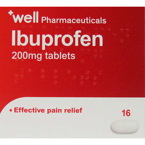 Well Ibuprofen Tablets 16s