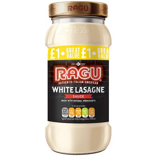 Ragu White Lasagne Sauce PM £1