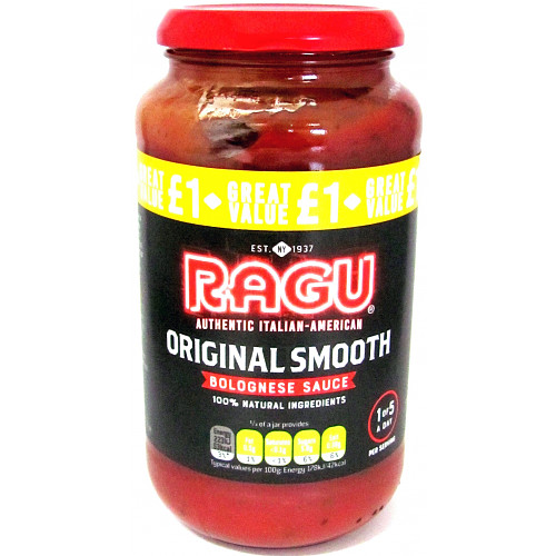 Ragu Original Smooth Bolognese PM £1