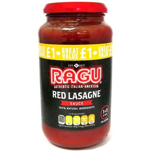 Ragu Red Lasagne PM £1