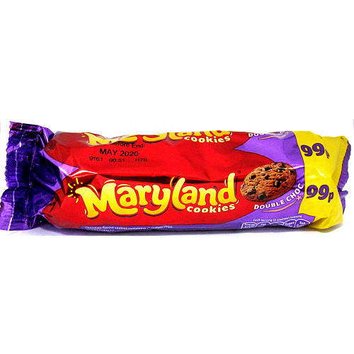 Maryland Cookies Double Choc PM 99p