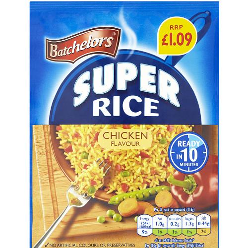 Batchelors Super Rice Chicken PM £1.09