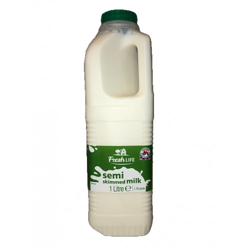 Fresh Life Milk Semi Skimmed