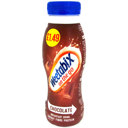 Weetabix On the Go Chocolate Breakfast Drink 250ml PMP £1.49