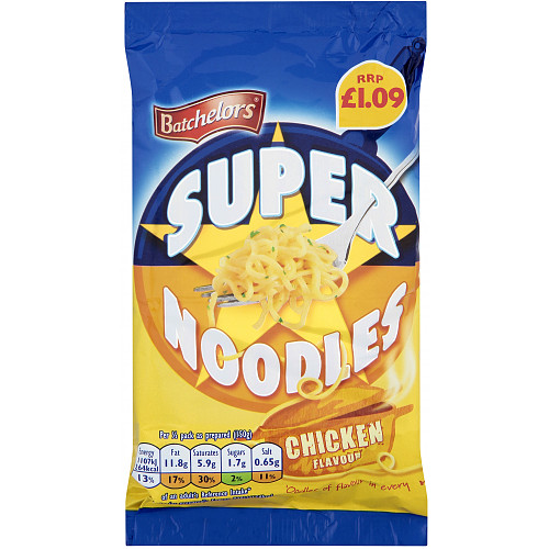 Batchelors Super Noodle Chicken PM £1.09