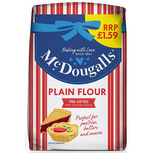 Mcdougals Plain Flour PM £1.59