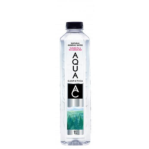 AQUA Carpatica Natural Still Mineral Water 6 x 1L
