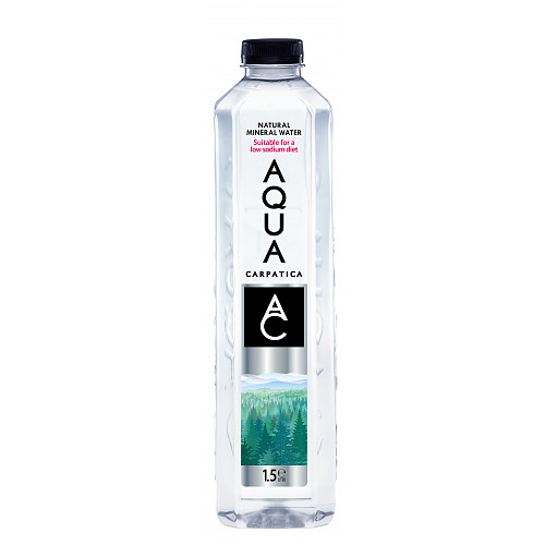 AQUA Carpatica Natural Still Mineral Water 6 x 1.5L