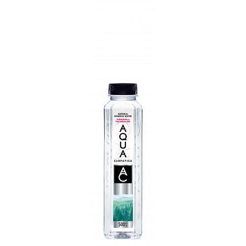 AQUA Carpatica Natural Still Mineral Water 500ml