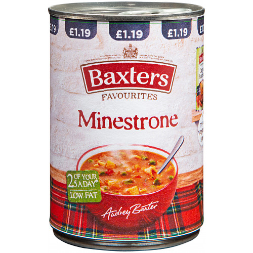 Baxters Favourites Minestrone Soup 400g