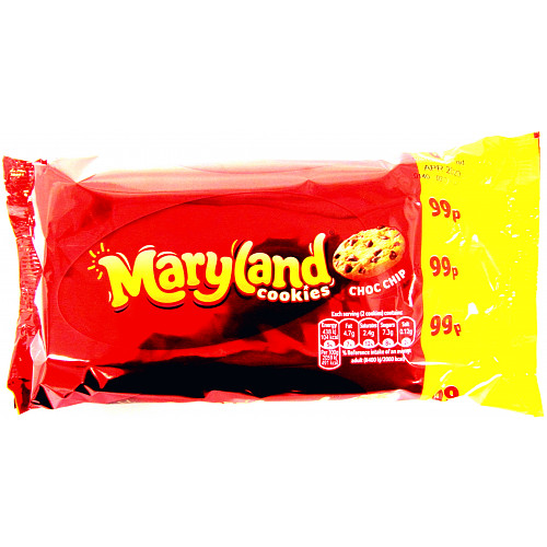 Maryland Choc Chip Twin PM 99p