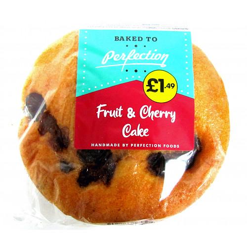 Fruit Cherry Round Cake PM £1.49