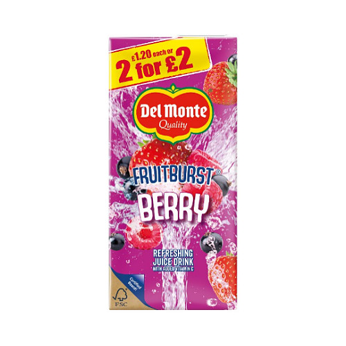 Fruit Burst Berry PM £1.20 2 For £2