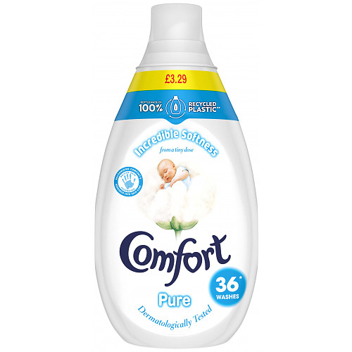 Comfort Pure Ultra Concentrated Fabric Conditioner Liquid 36 Wash 540 ML PMP