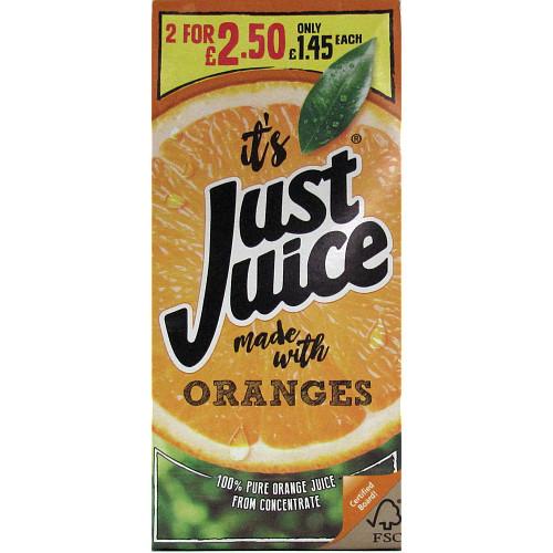 Just Juice Orange PM £1.45 2 For £2.50