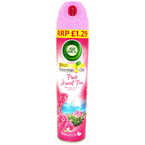 Airwick Aerosol Sweet Pea PM £1.29