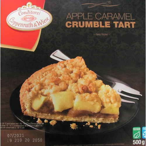 Conditorei Coppenrath & Wiese Apple Caramel Crumble Tart 500g