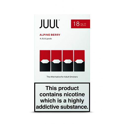 Berry 18mg/ml JUULpods (Pack of 4)