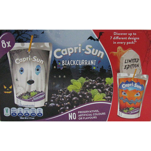 Capri-Sun Blackcurrant 8 x 200ml