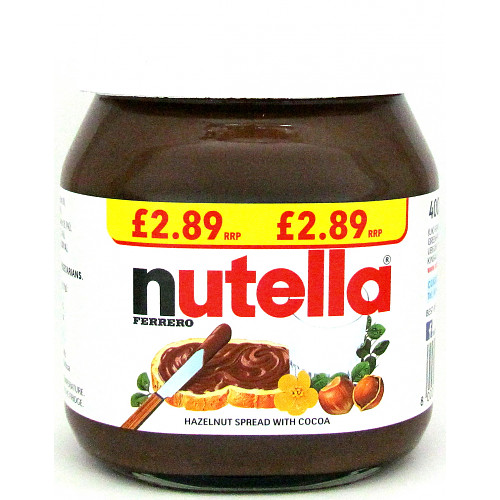 Nutella Spread PM £2.89