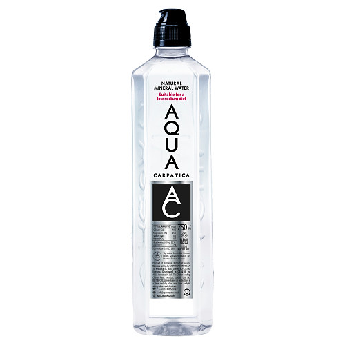 AQUA Carpatica Natural Still Mineral Water Sports Cap 6 x 750ml