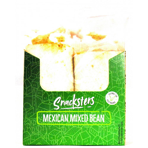 Snacksters Mexican Bean Wrap PM £1.69