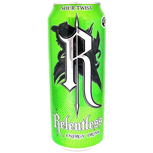 Relentless Sour Twist PM £1