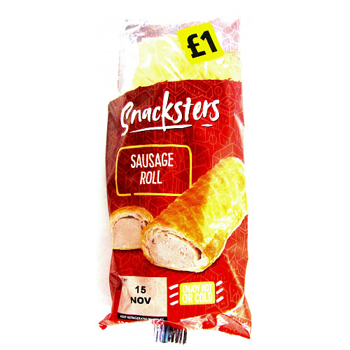Snacksters Sausage Roll £1 PMP