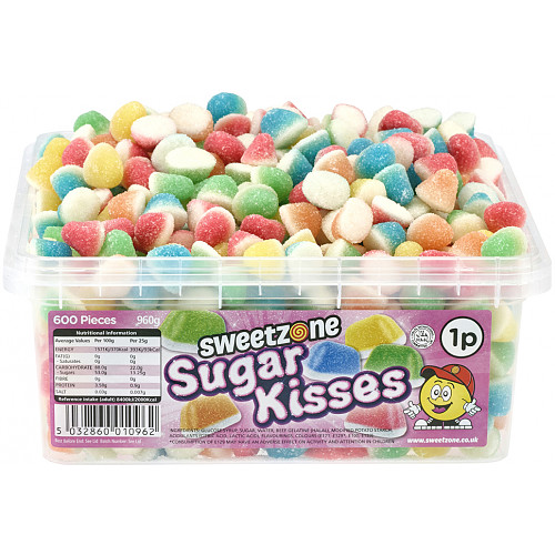 Sweetzone Assorted Sugar Kisses 1p