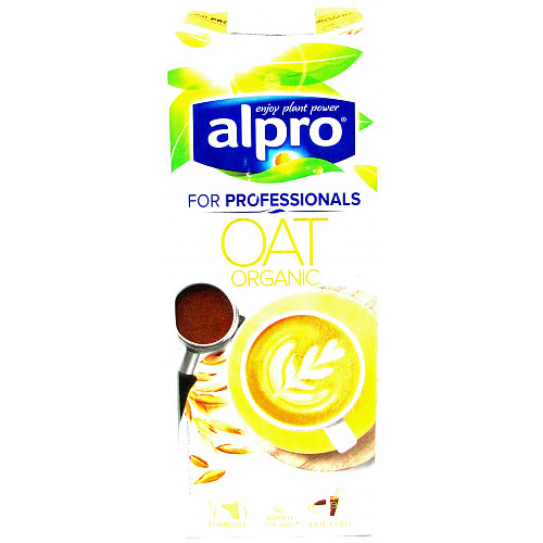 Alpro For Professionals Oat Organic Long Life Drink 1L
