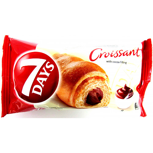 7Days Cocoa Croissant Halal