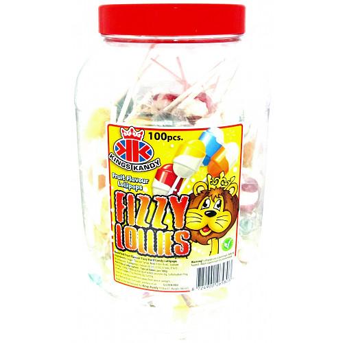 Fizzy Fruit Lollipops