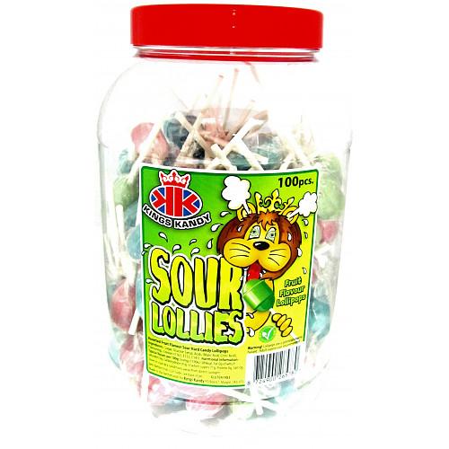 Sour Lollipops