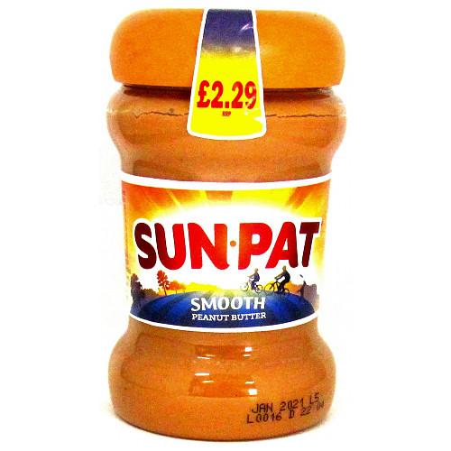 Sunpat Smooth Peanut Butter PM £2.29