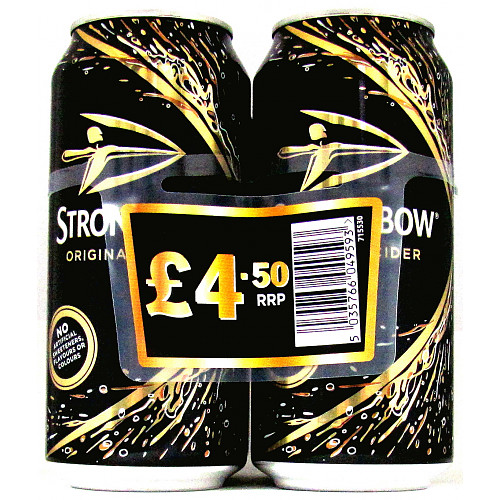 Strongbow 4 Pack PM £4.50